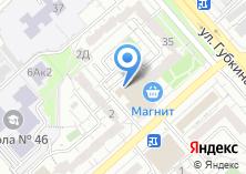 Компания «Сеть авиа и железнодорожных касс» на карте