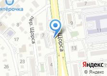Компания «Marselle» на карте