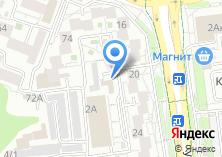 Компания «Лига-Белгород» на карте