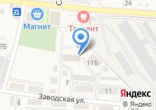 Компания «Почтовое отделение с. Таврово» на карте