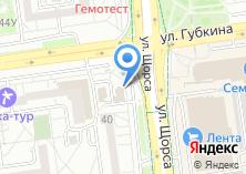 Компания «Белгородпромстройбанк» на карте
