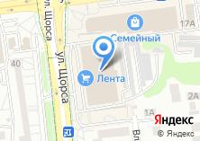 Компания «Автомойка  гипермаркет Лента - Автомойка» на карте