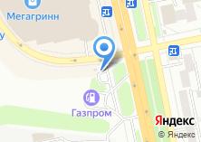Компания «АГЗС Газпром» на карте