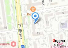 Компания «Династия» на карте