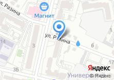 Компания «Натти» на карте