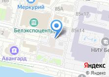 Компания «Общежитие НИУ БелГУ» на карте