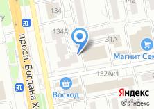 Компания «Колесо Удачи автомагазин» на карте