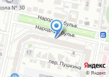 Компания «Белгородская сбытовая компания» на карте