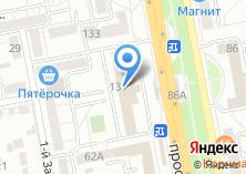 Компания «Древпласт» на карте