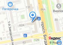 Компания «Континент-Тур» на карте