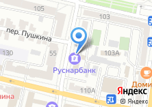 Компания «Банкомат КБ РУСНАРБАНК» на карте