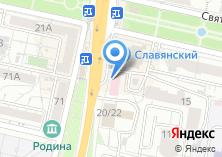 Компания «Визитка.Ru» на карте