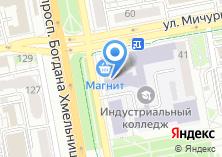 Компания «РОССТ» на карте