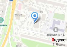 Компания «Нефертити» на карте