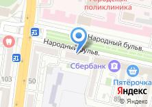 Компания «Совет муниципальных образований Белгородской области» на карте