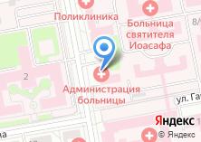 Компания «Белгородское патологоанатомическое бюро» на карте