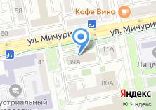 Компания «РегионГазСтрой» на карте