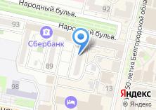 Компания «Белгородская фабрика бескаркасной мебели» на карте