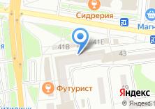 Компания «Восток» на карте