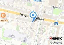 Компания «РОСТ БАНК» на карте