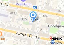 Компания «Модерн» на карте