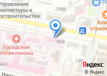 Компания «Городская поликлиника №1» на карте