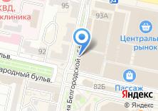 Компания «Янтарь Калининграда» на карте