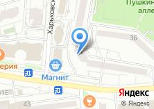 Компания «Белгородская областная нотариальная палата» на карте