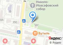 Компания «Гласис» на карте