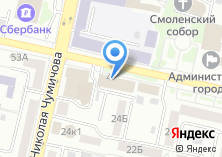 Компания «МОЗАИКА ПУТЕШЕСТВИЙ» на карте
