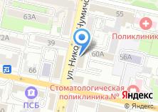 Компания «Белгородоблгражданреконструкция» на карте