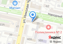 Компания «Территориальный фонд обязательного медицинского страхования Белгородской области» на карте
