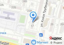 Компания «Плиссе» на карте