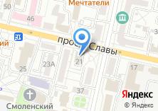 Компания «ВОРОТА31» на карте