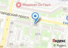 Компания «Военный комиссариат Восточного округа г. Белгорода» на карте