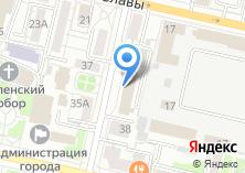 Компания «Стартел.Ру-Белгород» на карте