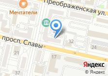 Компания «Курскпромбанк Белгородское отделение» на карте
