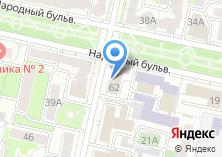 Компания «Центр социальных выплат г. Белгорода» на карте