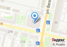 Компания «Pierre Cardin» на карте