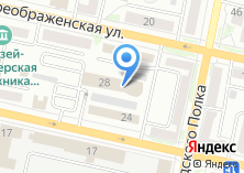 Компания «Строящееся административное здание по ул. Преображенская» на карте