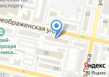 Компания «Управление автомобильных дорог общего пользования и транспорта Белгородской области» на карте