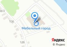 Компания «Мебельный город» на карте