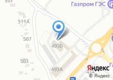 Компания «ШинаСервис» на карте