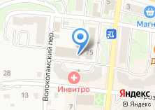 Компания «Inistra.ru» на карте