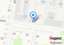 Компания «Истрамебель» на карте