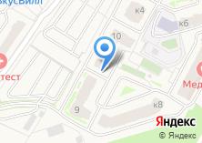 Компания «Строящийся жилой дом по ул. Супонево микрорайон (г. Звенигород)» на карте