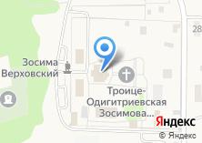 Компания «Зосимова пустынь» на карте