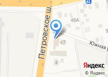 Компания «Автомойка на Петровском шоссе» на карте