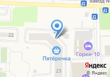 Компания «Строящийся жилой дом по ул. Горки 10 пос (Горки 10)» на карте