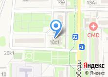 Компания «Строящееся административное здание по ул. Победы (Краснознаменск)» на карте